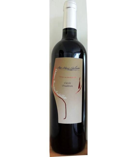 Côtes de Bordeaux rouge Cuvée Tradition 2015 Château Bourdieu Fonbille