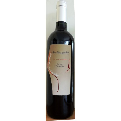 Côtes de Bordeaux Rouge Cuvée Tradition 2015 Château Bourdieu Fonbille 75cl