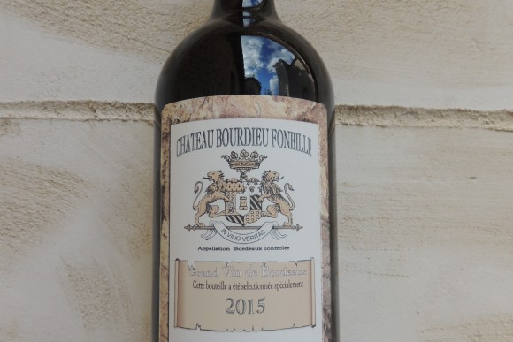 DOUBLE MAGNUM  COTES BORDEAUX ROUGE 2015