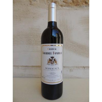 Bordeaux Rouge 2017 Château Bourdieu Fonbille 75cl