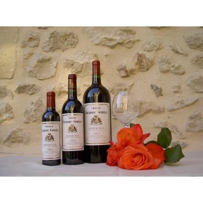 Bordeaux Rouge 2015 Château Bourdieu Fonbille Magnum 1,5L