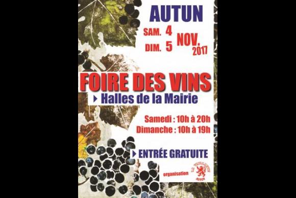 LA FOIRE DES VINS DE FRANCE A  AUTUN  LES 4 ET 5 NOVEMBRE  S'EST BIEN PASSEE  A L'ANNEE PROCHAINE