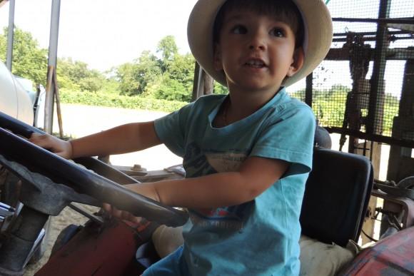 joies du tracteur